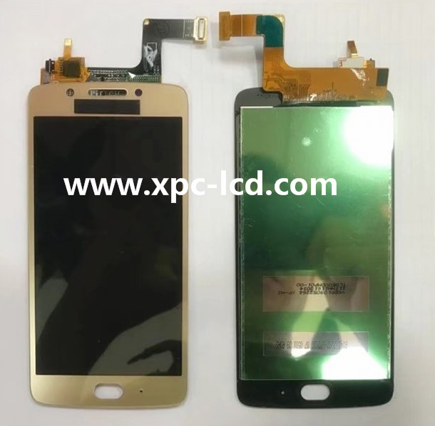 Guangzhou Factory price Motorola Moto G5 LCD complete Gold