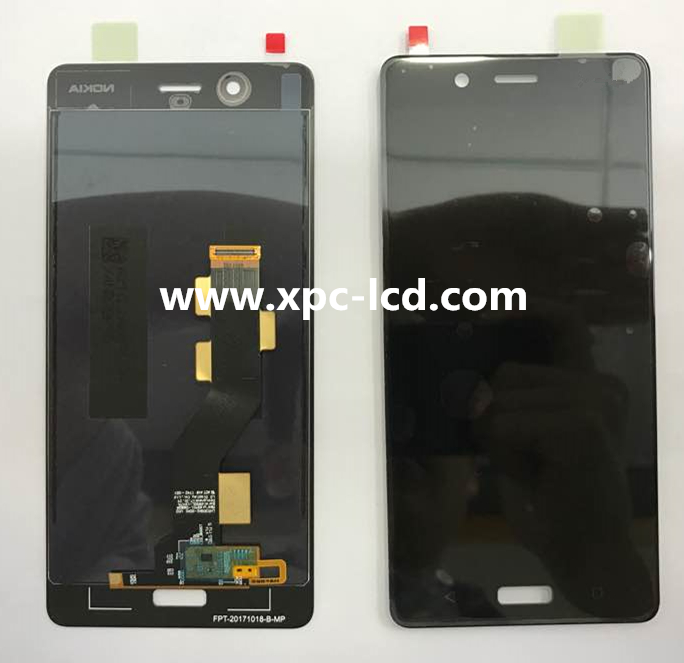 Wholesale cheap price original Nokia 8 LCD with touch Black
