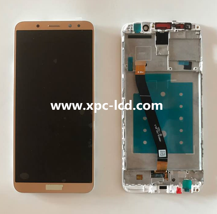 Original Mate 10 Lite LCD + digitizer + Frame Gold